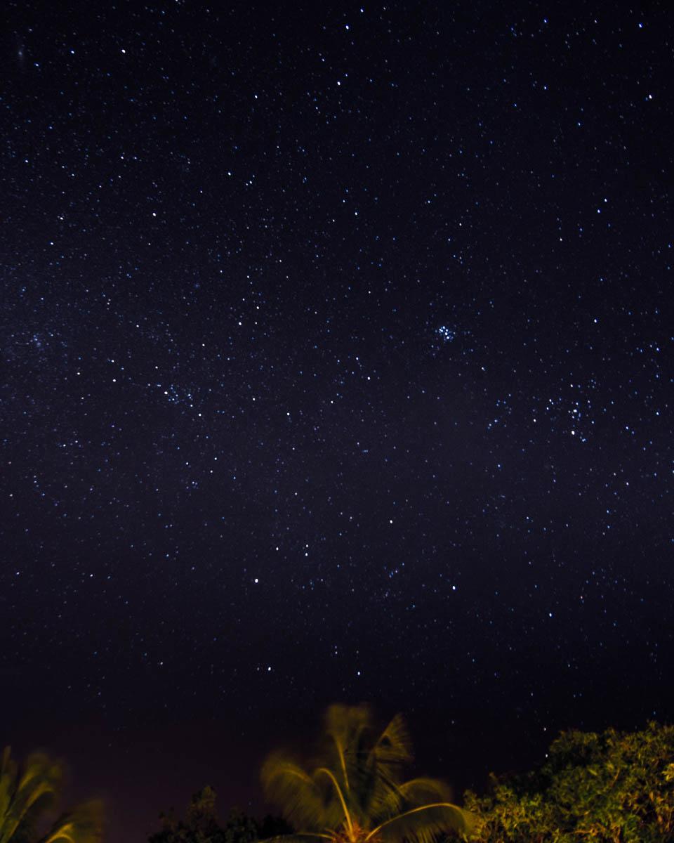 Night Sky over Vieques Puerto Rico