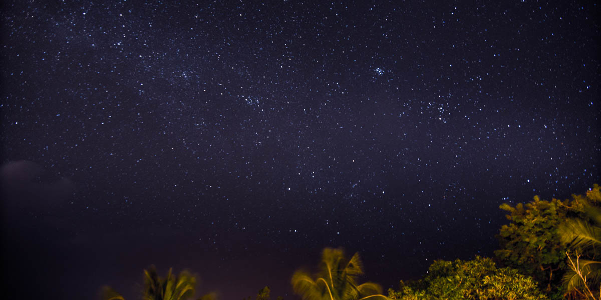 night sky vieques puerto rico horizontal